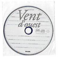 SYLVIE VARTAN VENT D'OUEST CD Promo