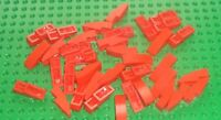 LEGO - SLOPE, Curved 3 x 1 No Studs, RED x 37 (50950) ZY25