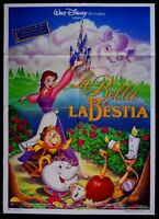 M145 Manifesto 2F The Bella And The Beast Animation Disney Beauty