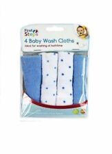 First Steps Pack 4 petites serviettes éponge  pour le bain 3 couleur au choix