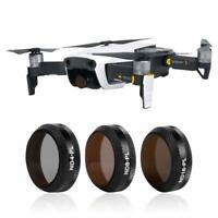 3-Packs DJI Mavic Air Filters with ND4/PL,ND8/PL,ND16/PL by Smatree