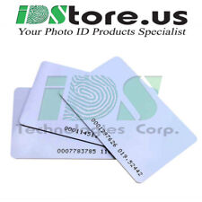 1386LGGMN 125 khz Programmed 26-Bit ISO HID compatible Proximity Cards- 100Pack