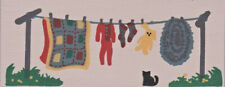 "Cat's Meow Village Rt Accessory ""Clothesline"" New/Value $9/Last 1"