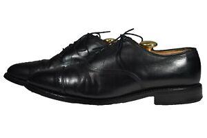 Allen Edmonds Byron Black Leather Oxfords Dress Shoes 8.5 D US
