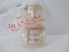 Dollhouse Unpainted Chair Furniture Miniature New Old Stock Korea