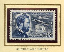 STAMP / TIMBRE FRANCE OBLITERE N° 1015 / CELEBRITE / SAINT CLAIRE DEVILLLE