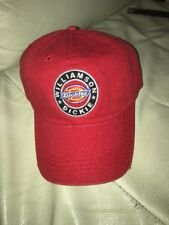 WILLIAMSON DICKIE RED DICKIES HAT DISTRESSED ? CAP WITH PATCH NEW LARGE