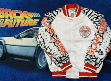Air Jordan 1988 Slam Dunk Bomber Jacket Button Up Nwt Size Large White