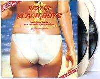 The Beach Boys Very Best of The Beach Boys Volume 1 + 2 LP Vinyl Record Albums