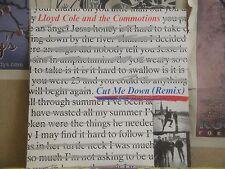 "LLOYD COLE & THE COMMOTIONS, CUT ME DOWN - UK 12"" SINGLE COLEX 6"