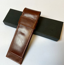 Fisher Bullet Space Pen Leather Pen Case//Pouch//Sleeve Minor Stitching Fault Mark