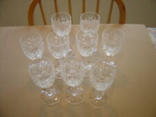 Waterford Glengarriff 9 Wine Claret Glasses