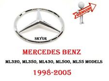 1998-2005 Mercedes W163 ML320 ML350 ML430 ML500 ML55 Front Grille Emblem GENUINE