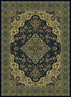 2x8 Runner Radici Blue Persian Medallion 808 Area Rug - Approx 2' 2'' x 7' 7''