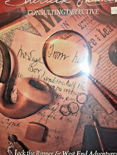 Sherlock Holmes Consulting Detective Jack the Ripper & West End Adventures Game