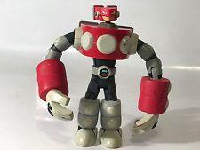 "Megaman NT Warrior Magnetman 6"" Figure Video Game Mattel As Is Broken Head"