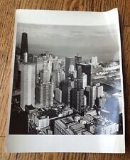 """Photo Of Chicago City View 1960'S... 14-1/4"""" X 11-1/4"""""""