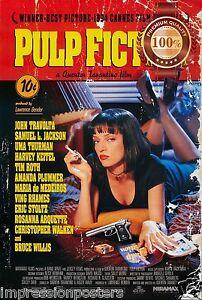 PULP FICTION ORIGINAL CLASSIC 1994 90s MOVIE TARANTINO PRINT PREMIUM POSTER