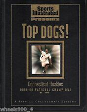 Sports Illustrated 1998-99 Connecticut Huskies National Champs UCONN Hard Cvr