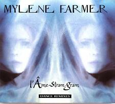 Mylène Farmer Maxi CD L'Âme-Stram-Gram (Dance Remixes) - France (EX+/EX+)