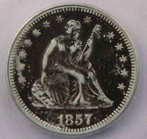 1857-O 1857 Seated Liberty Quarter ICG VF20