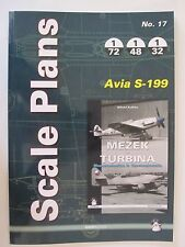 Scale Plans No. 17 Avia S-199 by Mushroom Model Publications