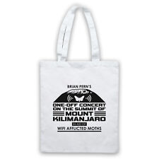BRIAN PERN CONCERT ON MOUNT KILIMANJARO AID WIFI MOTHS TOTE BAG LIFE SHOPPER