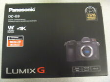 Panasonic Lumix 4K DC-G9 (Black)