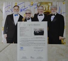 Steven Spielberg George Lucas Martin Scorsese Francis Ford Coppola Signed JSA