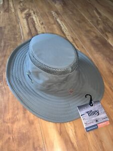 Tilley LTM6 Size 7 1/8 Airflo Hat Olive Brand New NWT