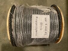 Black Polyprolene twisted rope 5/8 inch by 600 feet