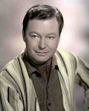 """DEFOREST KELLEY HOLLYWOOD ACTOR STAR TREK 8x10"""" HAND COLOR TINTED PHOTOGRAPH"""