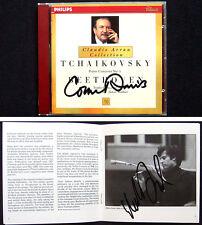 Claudio ARRAU Janos STARKER Tchaikovsky Beethoven INBAL DAVIS Signed CD SZERYNG