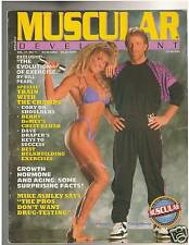 Muscular Development Bodybuilding Mag Cory Everson/Fighter Chuck Norris 11-90