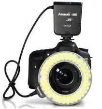 Aputure Amaran Halo AHL-HN100 CRI 95+ LED Flash Light for Nikon D7100 D610 D90