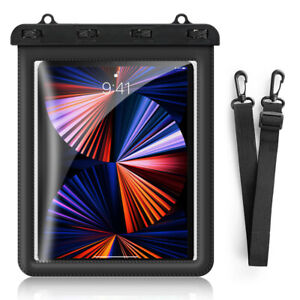 """IPX8 Waterproof Pouch/Dry Bag with Lanyard for 11"""" 10.9"""" 10.5"""" 10.2"""" 9.7"""" Tablet"""