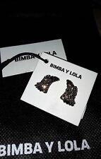 BIMBA Y LOLA! New Fashion earrings! With dust bag.