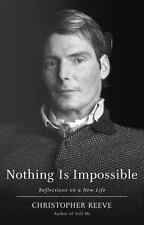 Christopher Reeve Bio Nothing Is Impossible Memoir HC Like New Free Shipping