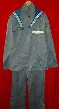 New Russian Soviet NAVY Sailor Working Uniform Tunic Trousers Tie Sz 52-5 USSR