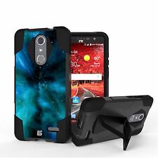 Rugged Case w/Stand Duo Layer Cover for ZTE Grand X 4 Z956 Blade Spark Z971
