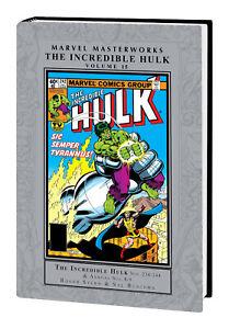 MARVEL MASTERWORKS INCREDIBLE HULK Volume #15 Hard Cover (2021) Global Shipping