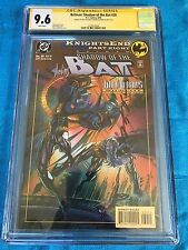 Batman: Shadow of the Bat #30 - DC -CGC SS 9.6 NM+ -Signed by Stelfreeze Blevins