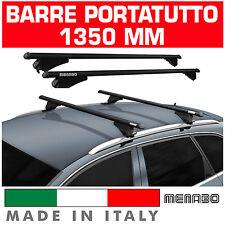 BARRE TETTO AUTO TIGER BLACK XL MENABO' portapacchi SUZUKI Sx4 S-CROSS ANNO 13>