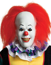 Steven King IT Pennywise Latex Clown Mask Adult-Licensed