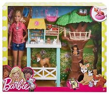 Barbie Conjunto de Juego Rescate Animal-FCP78