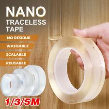 30/50mm Width Nano Magic Tape Traceless Clear Adhesive Invisible Gel Anti-Slip