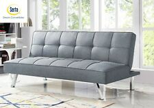 Serta Multi-function Upholstery Fabric Sofa Futon bed Gray new in box free ship