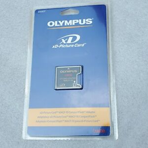 Olympus xD-Picture Card MACF-10 CompactFlash Adapter 200837. SEALED NOS 2002.