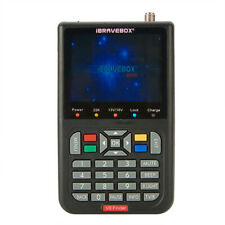 V8 iBRAVEBOX Satellite Signal Finder HD LCD Screen VB-S/S2 FTA Digital Display