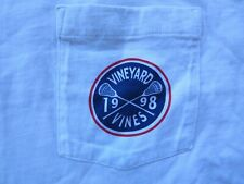 Vineyard Vines T-Shirt Men's Lacrosse 1998 sz Xxl w/ Pocket & Logo